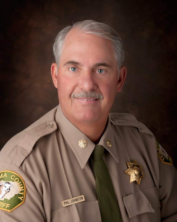 Asst. Sheriff Phil Johnston | Administration | Tehama County Sheriff's Office