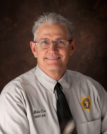 Chaplain Mike Cox| Chaplain Corps | Tehama County Sheriff's Office