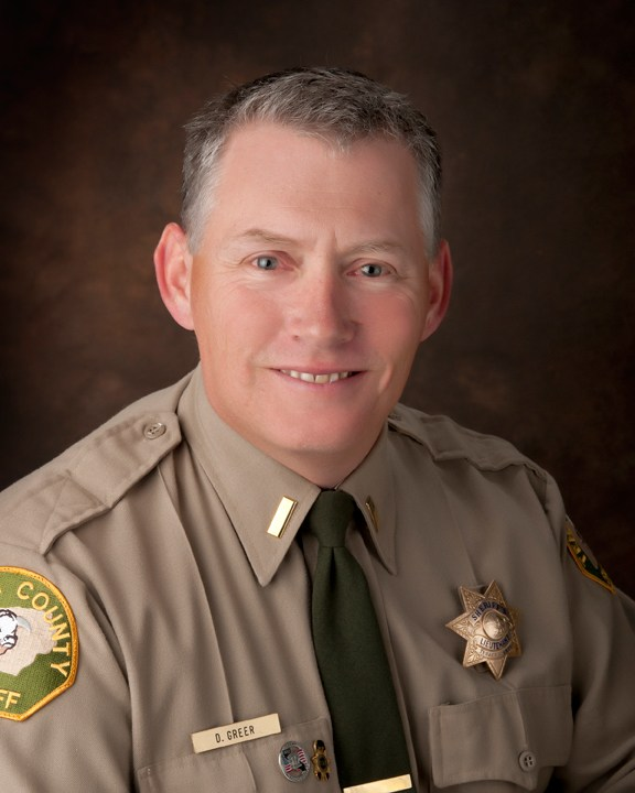 Lt. David Greer | Operations Division | Tehama County Sheriff's Office