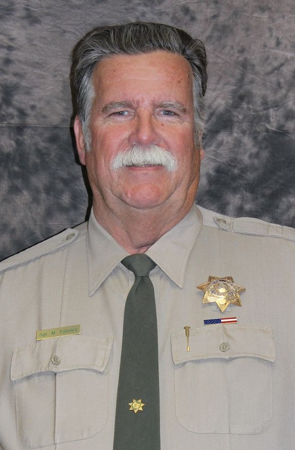 Boating Sgt. Mike Paisley | Boating | Tehama County Sheriff's Office