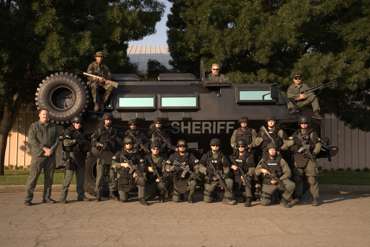 SWAT Team with Casspir | Operations Division | Tehama County Sheriff's Office