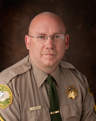 Administration CO Sgt. Chad Gibson | Jail Division | Tehama County Sheriff's Office